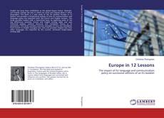 Copertina di Europe in 12 Lessons