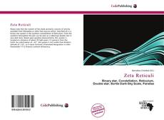 Bookcover of Zeta Reticuli