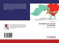 Capa do livro de Handbook on Canine Cardiology