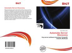 Bookcover of Automatic Server Discovery