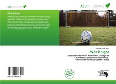 Bookcover of Wes Knight