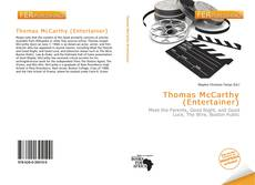 Couverture de Thomas McCarthy (Entertainer)
