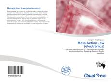 Capa do livro de Mass Action Law (electronics)