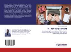Bookcover of ICT for development