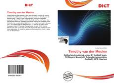 Bookcover of Timothy van der Meulen