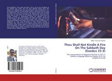 Bookcover of Thou Shall Not Kindle A Fire On The Sabbath Day (Exodus 35:3)