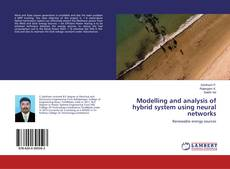 Couverture de Modelling and analysis of hybrid system using neural networks