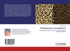 Bookcover of Osteoporosis management