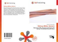 Bookcover of Sidney Miller (Actor)