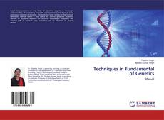 Capa do livro de Techniques in Fundamental of Genetics