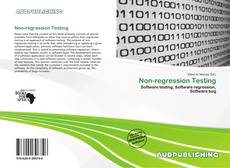 Bookcover of Non-regression Testing