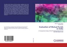 Buchcover von Evaluation of Mutual Funds in India