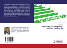 Bookcover of Teaching sustainability: modern challenges