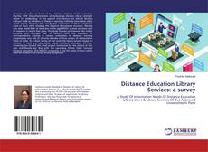 Bookcover of Distance Education Library Services: a survey