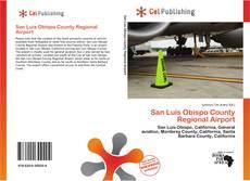 Portada del libro de San Luis Obispo County Regional Airport