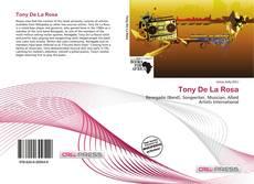 Capa do livro de Tony De La Rosa