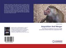 Bookcover of Acquisition And Merger
