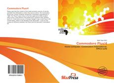 Bookcover of Commodore Plus/4