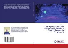 Capa do livro de Insurgency and State Response in Nigeria: A Study of Amnesty Programme