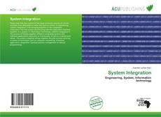 Capa do livro de System Integration