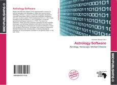 Bookcover of Astrology Software