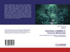 Couverture de Interferon LAMBDA-3: Immune Modulator