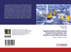 Bookcover of Experimental data based model formulation for engine assembly process