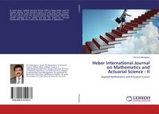 Bookcover of Heber International Journal on Mathematics and Actuarial Science - II