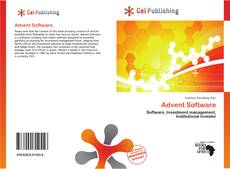 Bookcover of Advent Software