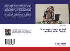 Bookcover of Contemporary Women And Modern Indian Society