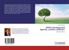 Capa do livro de WIPO's Development Agenda: another stillbirth?
