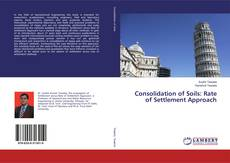 Bookcover of Consolidation of Soils: Rate of Settlement Approach