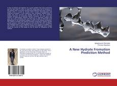 Buchcover von A New Hydrate Fromation Prediction Method