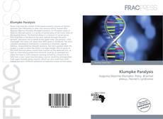 Bookcover of Klumpke Paralysis