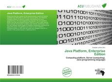 Bookcover of Java Platform, Enterprise Edition