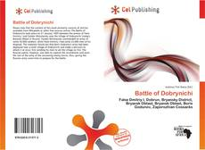 Bookcover of Battle of Dobrynichi
