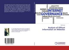 Couverture de Analysis of Official Information on Websites