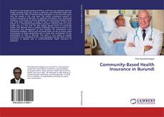 Bookcover of Community-Based Health Insurance in Burundi