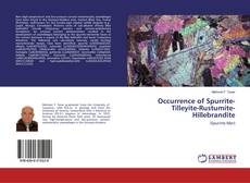 Bookcover of Occurrence of Spurrite-Tilleyite-Rustumite-Hillebrandite