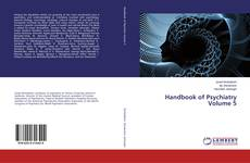 Capa do livro de Handbook of Psychiatry Volume 5