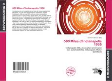 Bookcover of 500 Miles d'Indianapolis 1936