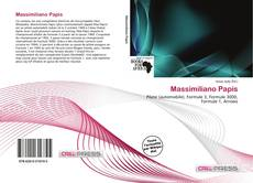 Bookcover of Massimiliano Papis