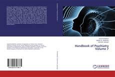 Bookcover of Handbook of Psychiatry Volume 7