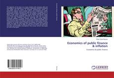 Bookcover of Economics of public finance & inflation