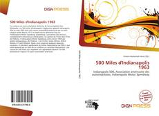 Bookcover of 500 Miles d'Indianapolis 1963