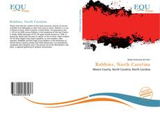 Buchcover von Robbins, North Carolina