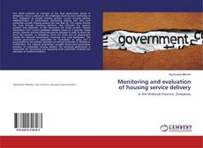 Copertina di Monitoring and evaluation of housing service delivery