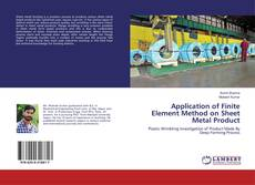 Bookcover of Application of Finite Element Method on Sheet Metal Product