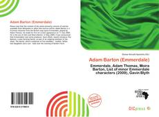 Bookcover of Adam Barton (Emmerdale)