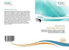 Capa do livro de Gabrielle Bertrand